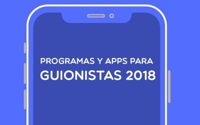 ▷ PROGRAMAS DE GUION [2019]