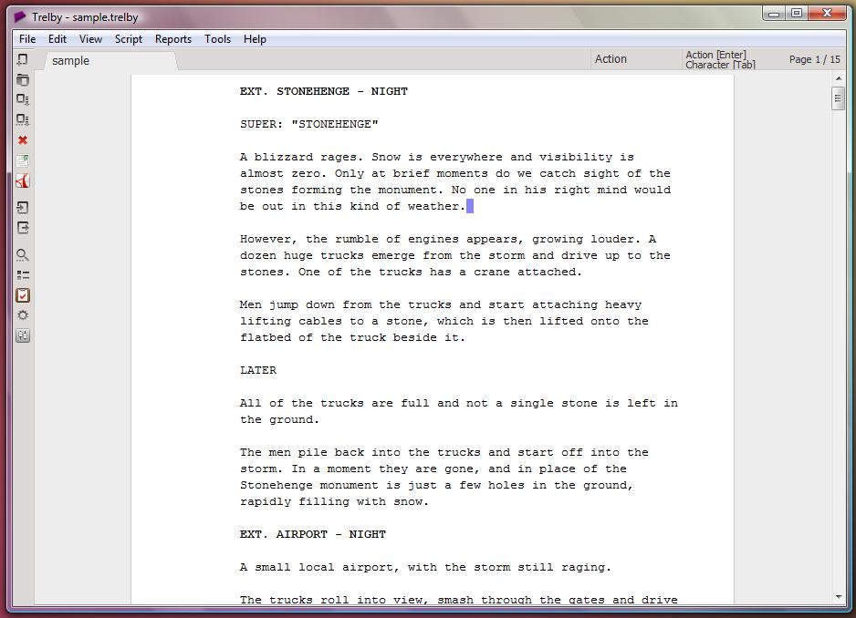 Programas y aplicaciones para escribir guiones