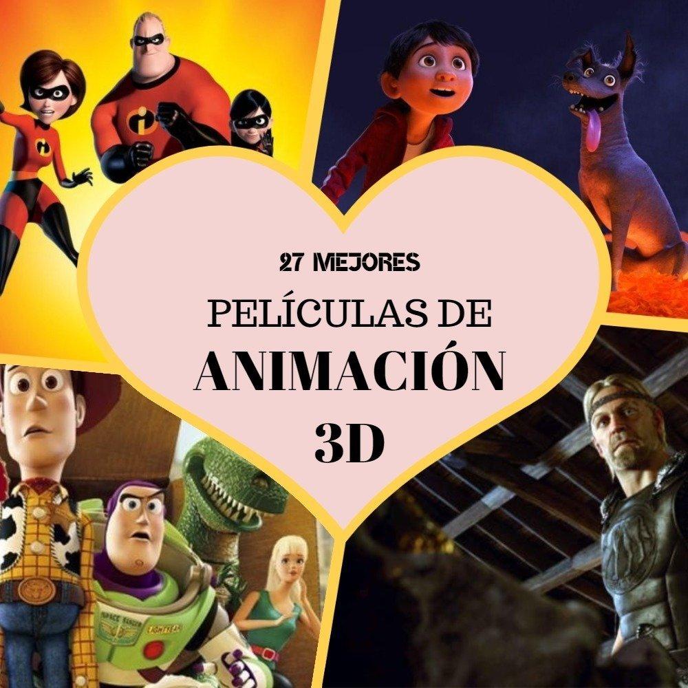 Mejores películas de animación 3D