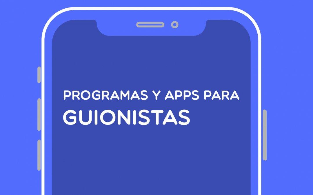 PROGRAMAS DE GUION