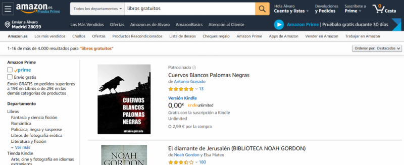 descargar kindle gratis