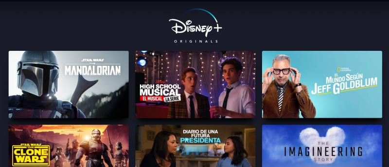 Disney+ contenidos originales