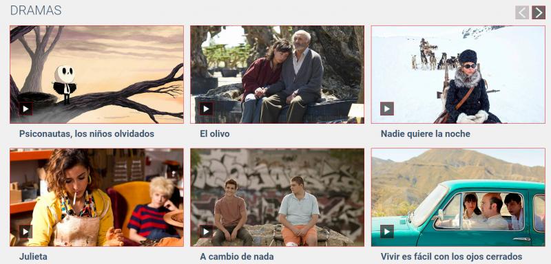cine español gratis