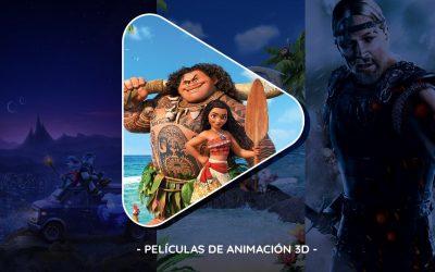 Películas de animación 3D